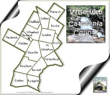 Caledonia County, Vermont History and Genealogy on