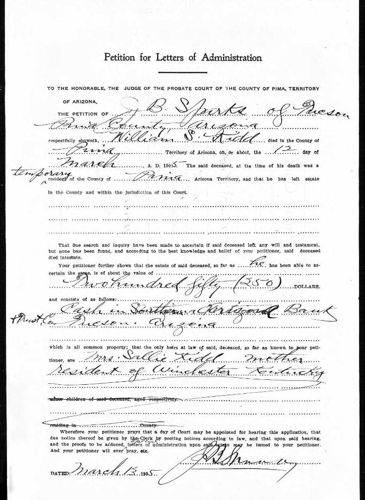 Probate Court Records